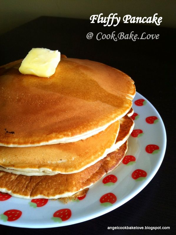 Home-made Fluffy Pancake