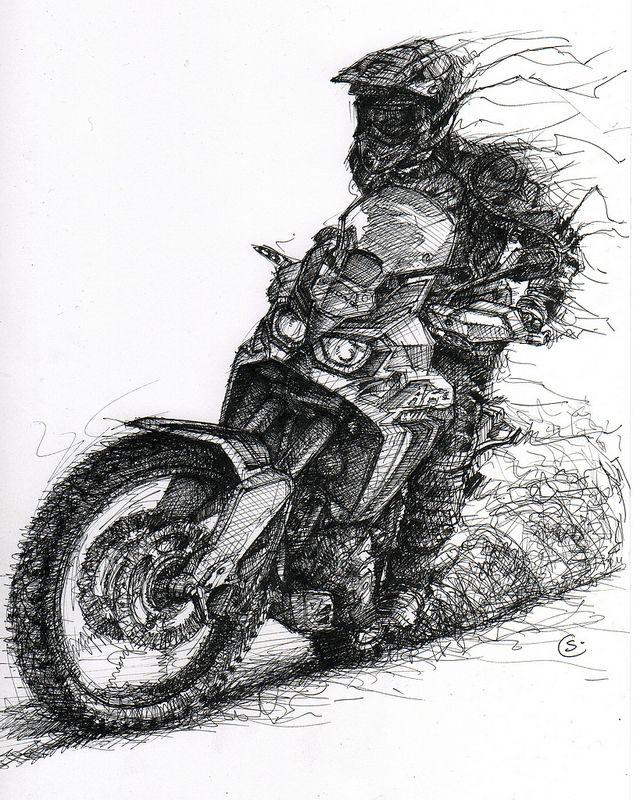рисунки карандашом черно белые мотоцикла временна проходит, любовь