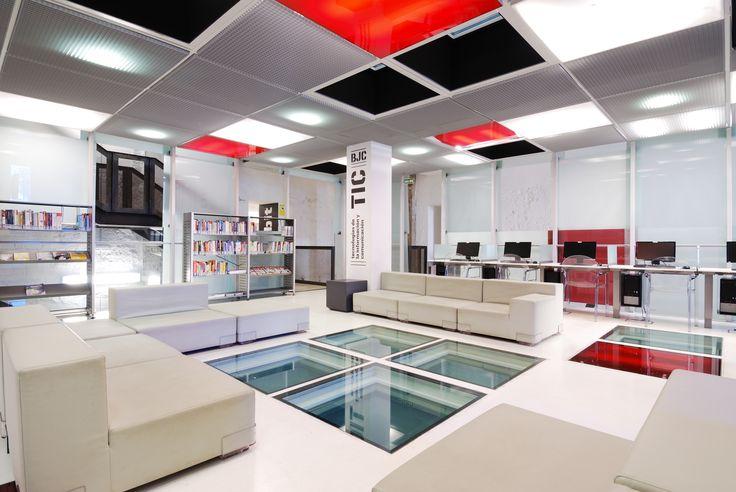 Biblioteca para j venes cubit zaragoza vah estudio de for Estudios arquitectura zaragoza