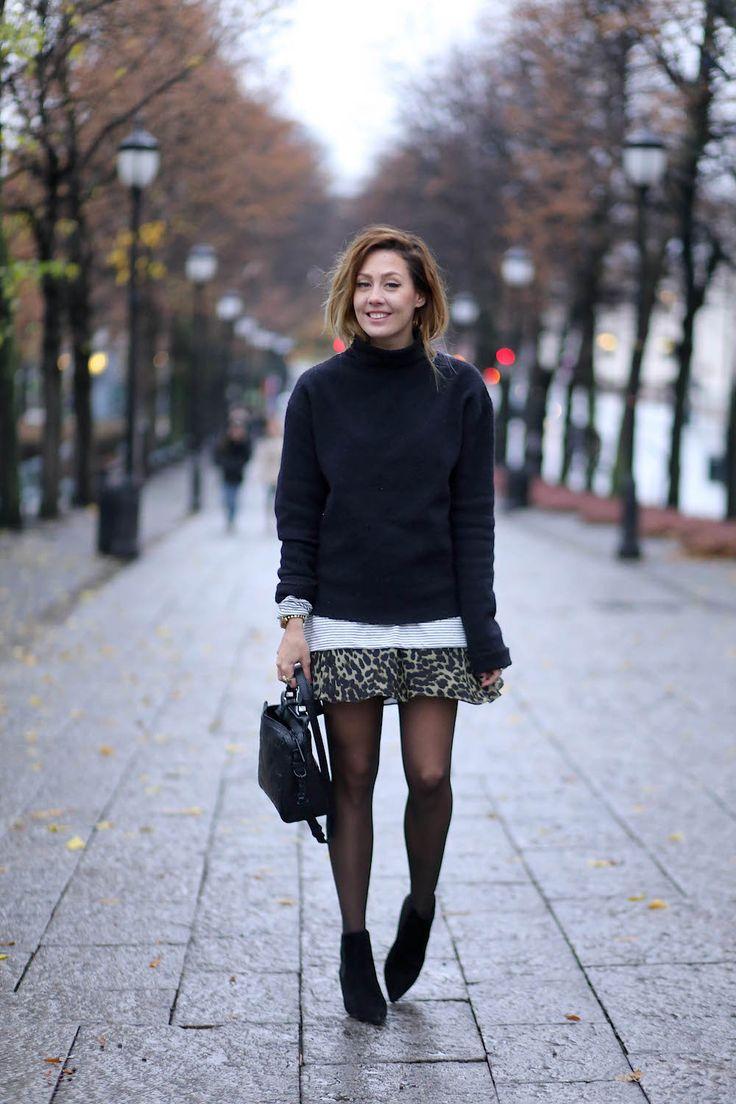STRIPES AND LEOPARD www.fashionjunkiie.com