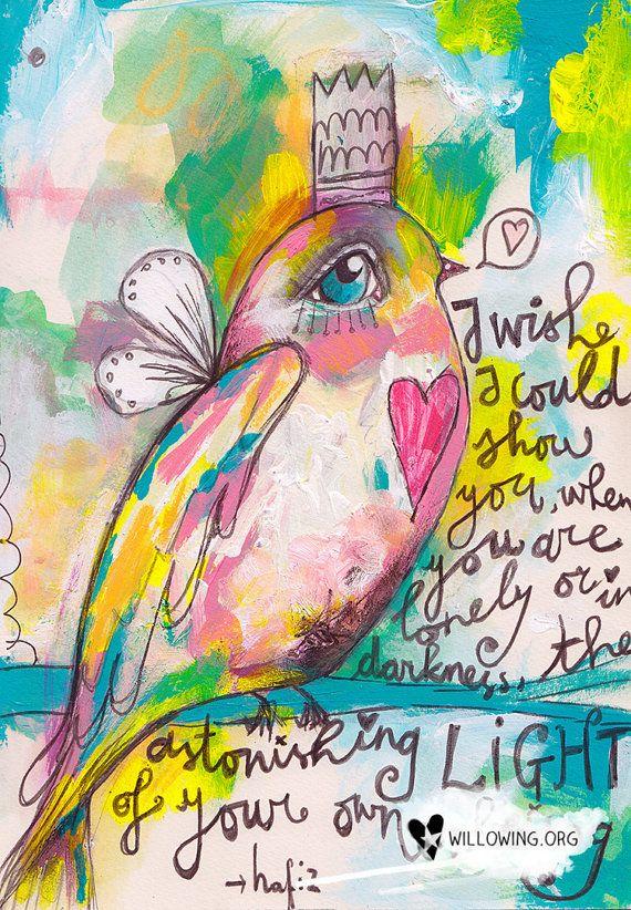 Little Bird - Print