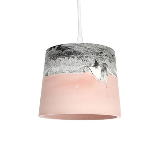 Synthetic plaster rainbow shades by Julian Renault on www.sightunseen.com