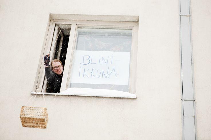 Blini-ikkuna Helsinki, Finland Restaurant Day 4 Feb 2012 Photo: Hanna Anttila #restaurantday