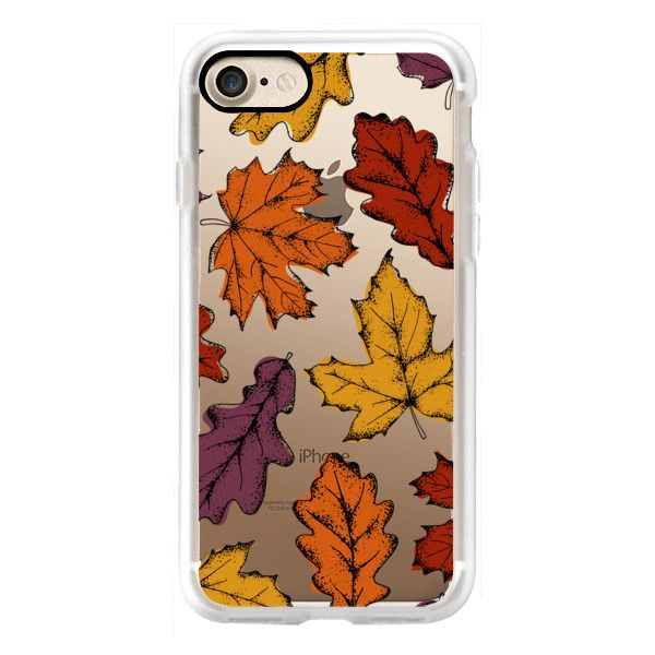 Fall Leaves - iPhone 7 Case, iPhone 7 Plus Case, iPhone 7 Cover,... (53 CAD) ❤ liked on Polyvore featuring accessories, tech accessories, iphone case, iphone cases, iphone cover case and apple iphone cases