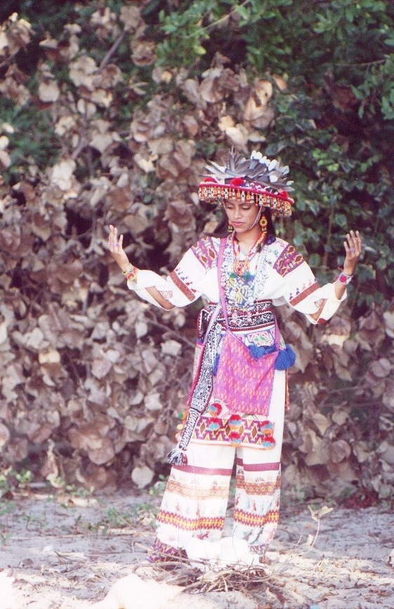 Huichol suit, for Maraakame, (their Shaman)   Huicholes still keep their traditions alive