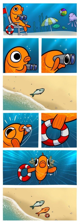 fish life guard