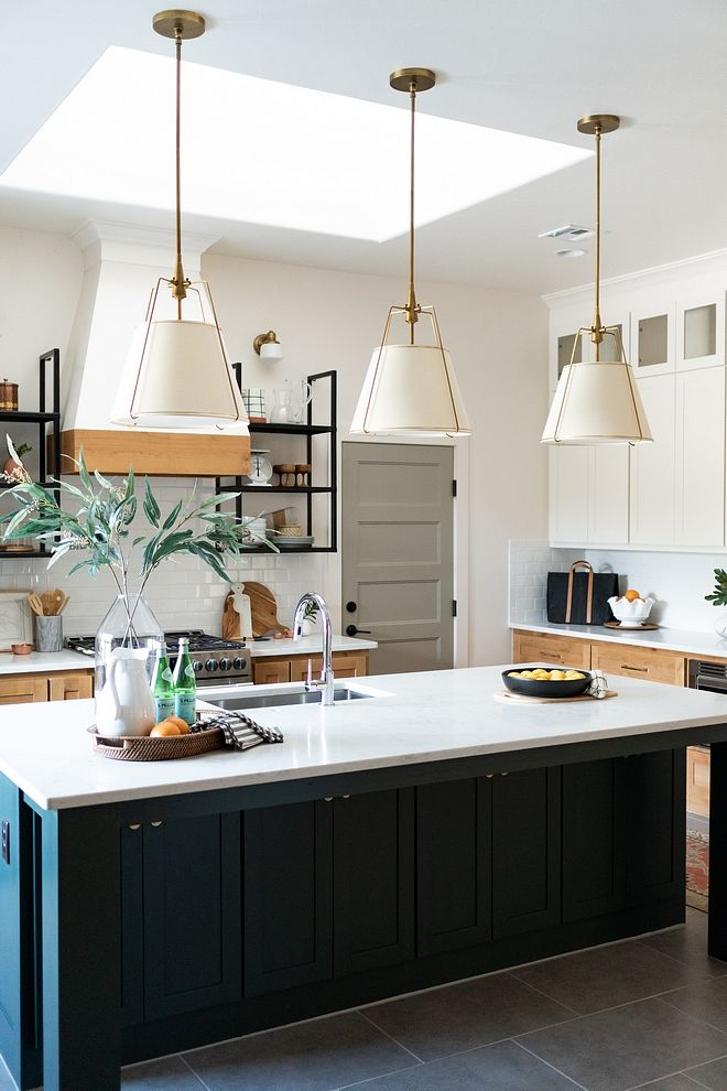 Kitchen Island With Three Pendants Size