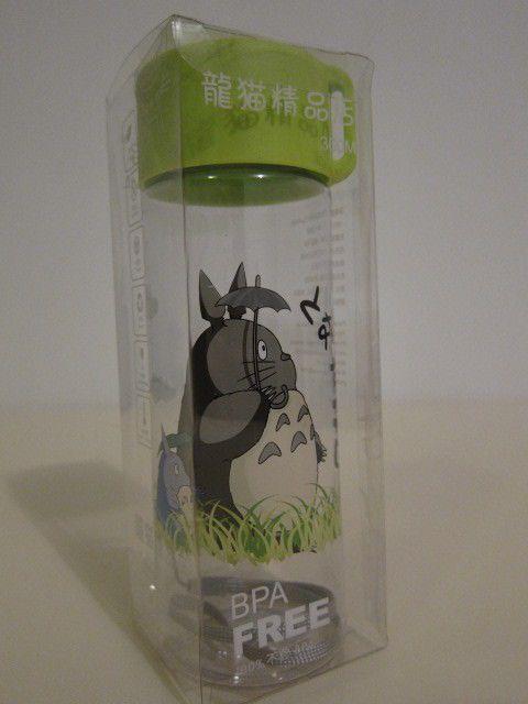 Studio Ghibli My Neighbor Totoro Plastic Water Bottle #C