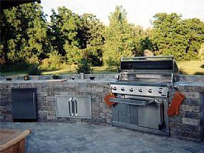 Punica Peyzaj - Dış mekan mutfakları. Bahçe mutfakları