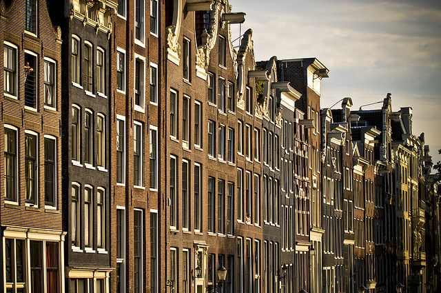 Netherland / Amsterdam - Traditional houses by Manu Foissotte