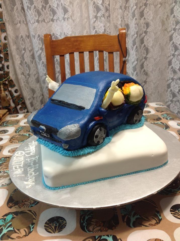 2 Tier naughty cake