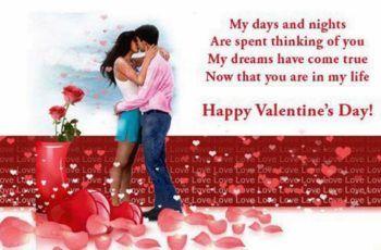 Happy Valentines Day Quotes 2018 For Him Her Boyfriend Girlfriend