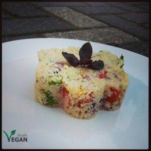 Couscous-with-fresh-veggies2 | What do vegans eat? | Pinterest ...