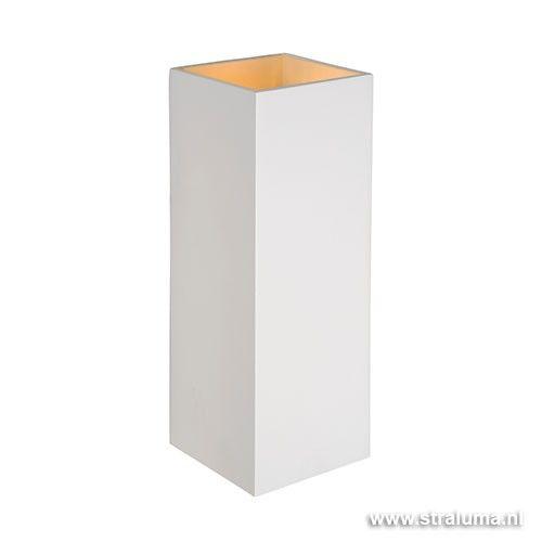 Design wandlamp Verto wit keuken-hal - www.straluma.nl