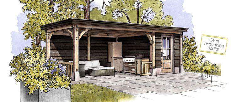 25 beste idee n over veranda dak op pinterest veranda deksel terrasoverkapping en overdekte - Overdekte patio pergola ...