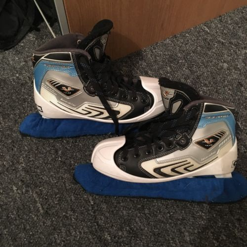 Ccm #vector 4.0 ice hockey #goalie #skates ,  View more on the LINK: 	http://www.zeppy.io/product/gb/2/262654937413/