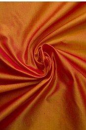 Pure Silk,Samyakk,Two tone pure silk fabric - Burnt Orange - FB100