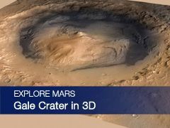 Explore Gale Crater in 3D