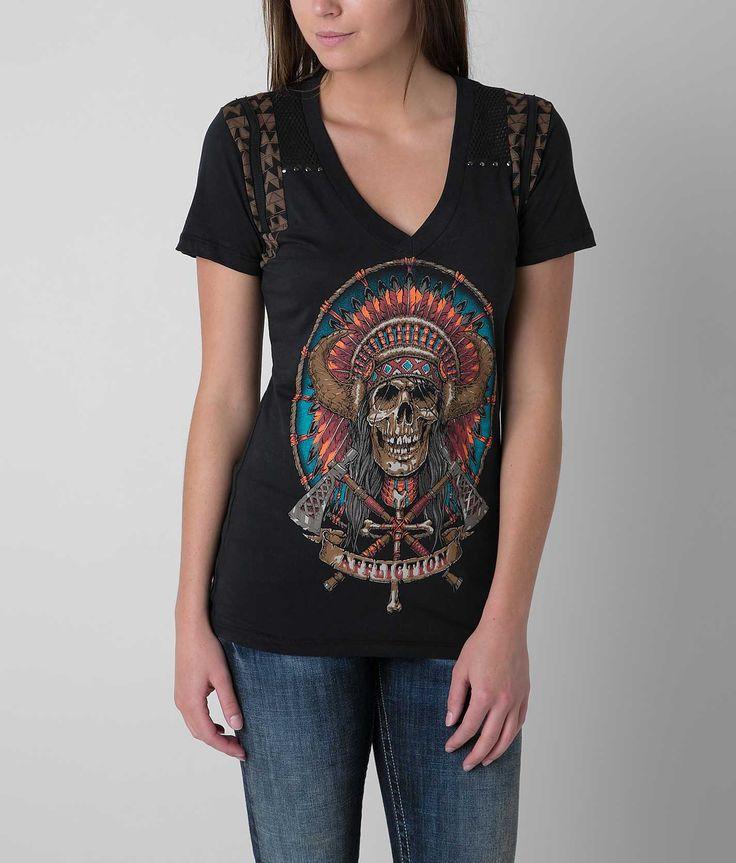 Affliction Mist T-Shirt - Women's Shirts/Tops   Buckle