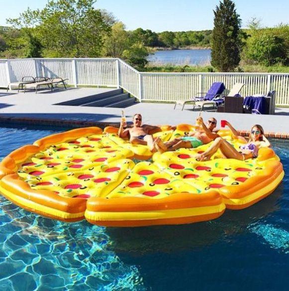 "Lois & Joel's next ""floaty"""