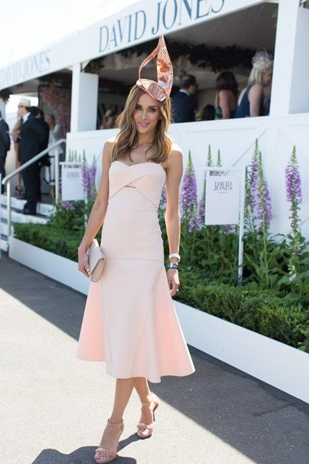 Spring racing 2015 peach and bronze gold | STYLIST JULIA ELI