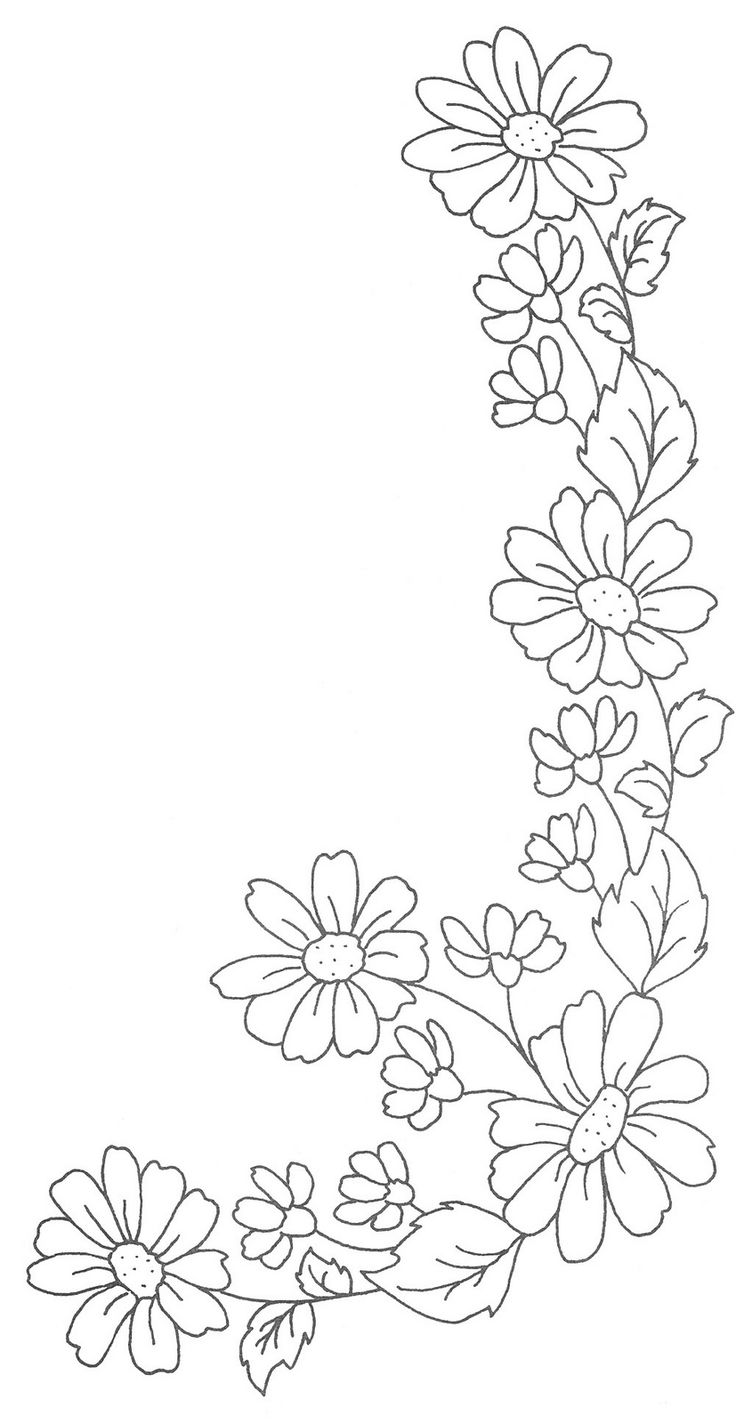 Outline embroidery designs for tablecloth - 24 Best Images About Hearties On Pinterest Flower Initials And Flowers Colour In Copic Markers Hackbreizhfo
