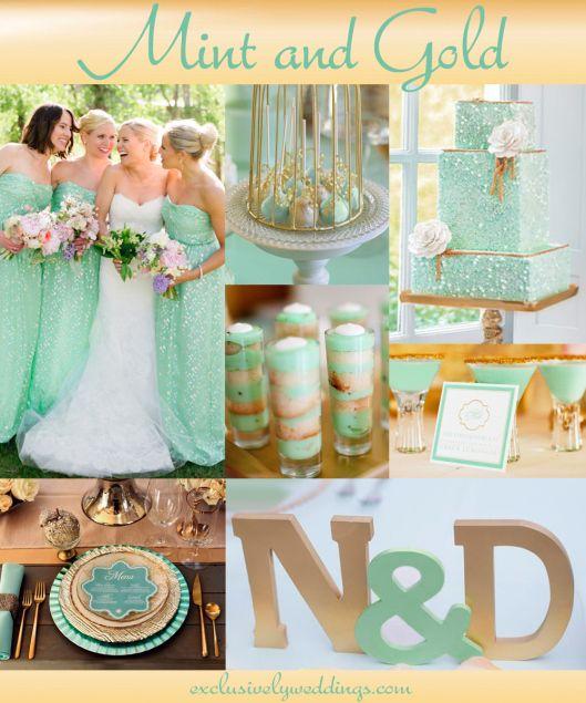56 best Mint Green Wedding images on Pinterest  Weddings