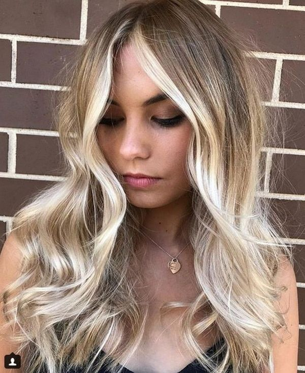 Copper Blonde Hair Color 2018 2019 With Platinum Streaks