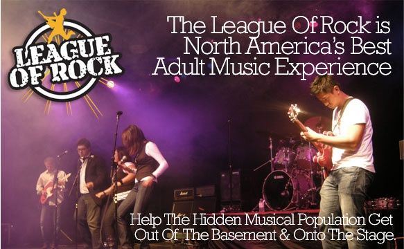 Help Adult Musicians Get Out Of The Basement & Onto The Stage