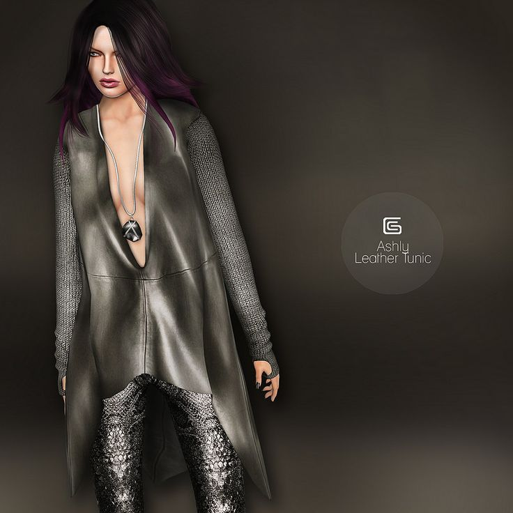GizzA - Ashly Leather Tunic | Flickr - Photo Sharing!