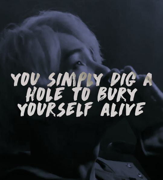 I love how suga's lyrics are so effortlessly meaningful and cool at the same time. They really embody the status quo of our generation.