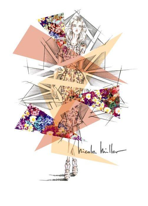 Nicole Miller, designs, lit a spark to the NM Spring Revolution, of 2014! #NMrunway #Spring14 #NMrevolution
