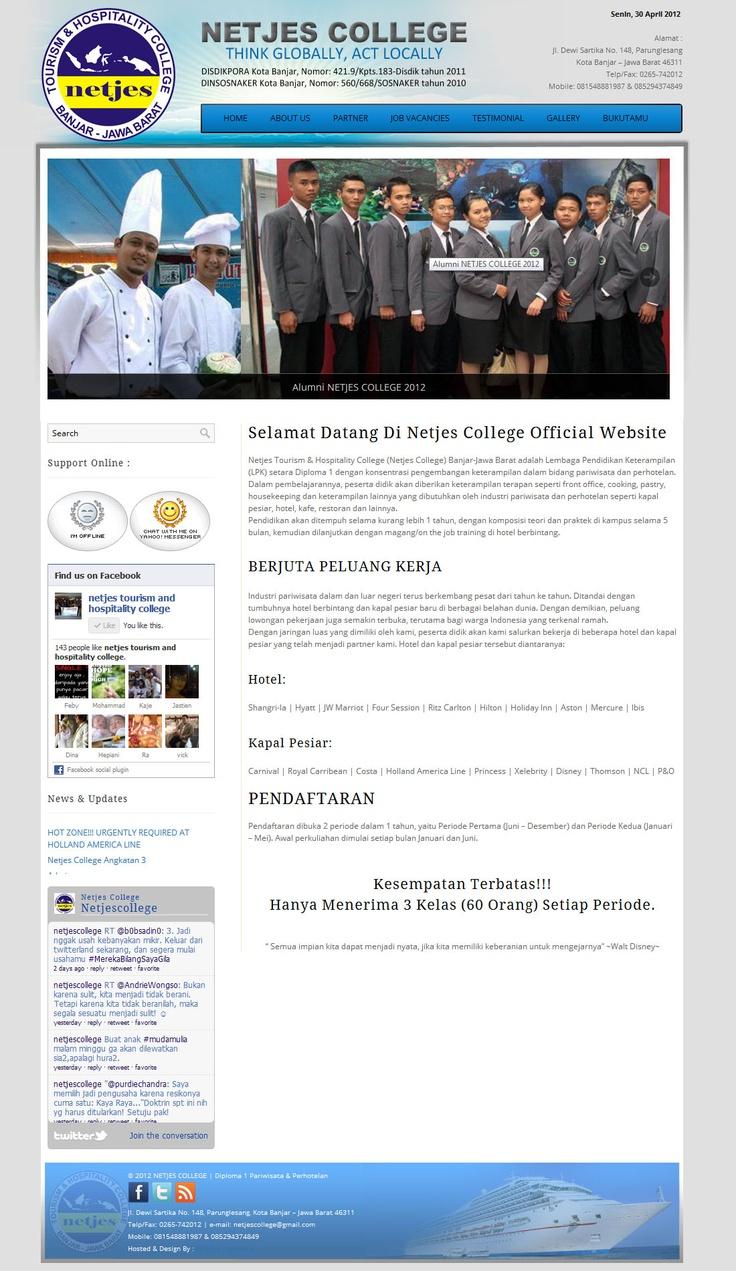 Simple Design - Netjes College at http://netjescollege.com