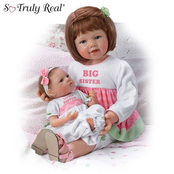 Пара коллекционных кукол - Любовь сестер