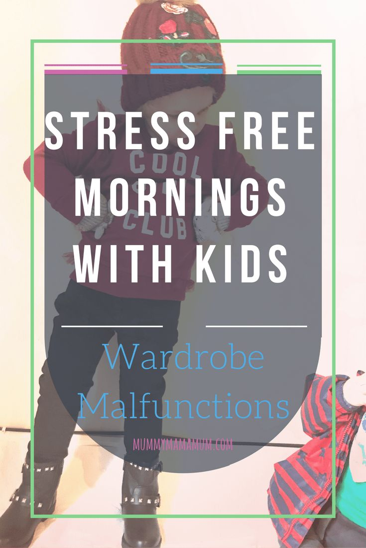 We are well on the way to re-forging our stress free mornings, and all through some simple fixes. We reconnected a bit, just by taking the time to listen to what she had to say. Plus we got to go girly shopping and try on some fab cute new outfits! Win win!
