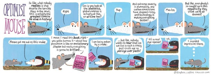 Optimist Mouse - By Stephen Collins