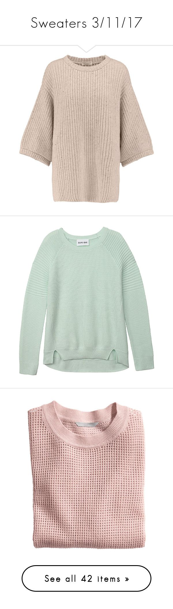 """Sweaters 3/11/17"" by sparkles-and-salamanders ❤ liked on Polyvore featuring tops, sweaters, blush, pink top, metallic top, batwing sleeve tops, brunello cucinelli top, ribbed top, heather grey and sweater pullover"
