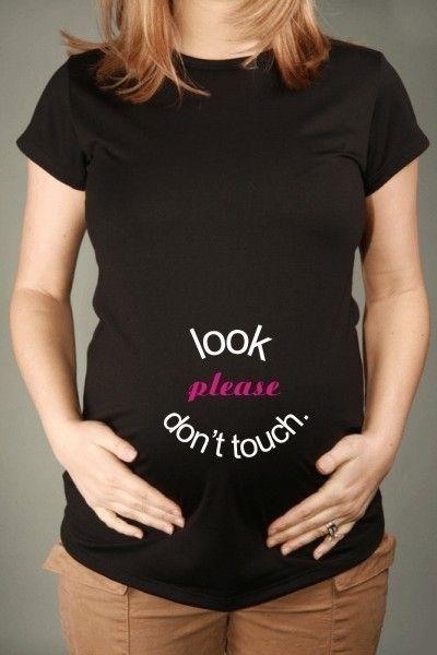 discourage the creeps. hahaha. (JellybeanApparel, Etsy):  T-Shirt, Get Pregnant, Baby Feet,  Tees Shirts, Shorts Sleeve, T Shirts, Maternity Shorts, Maternity Shirts, Black Cat
