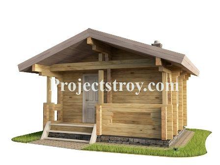 Проекты баня-дом из бруса 150 мм. Скачать бесплатно проект бани для строительства с разбревновкой (разбрусовкой).