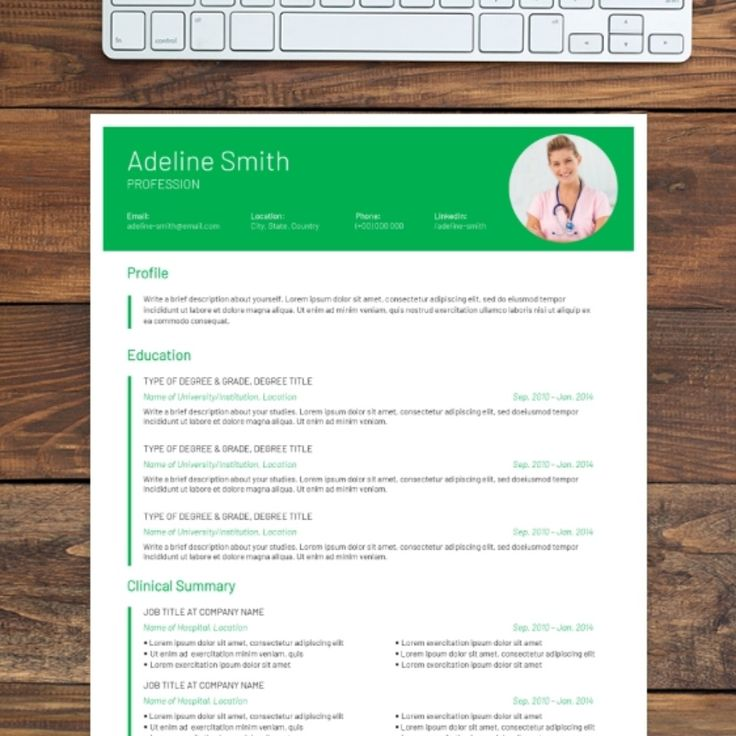 This dynamic resume template uses title blocks and white