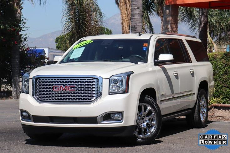 Used 2015 Gmc Yukon Xl For Sale With Photos Cargurus Gmc