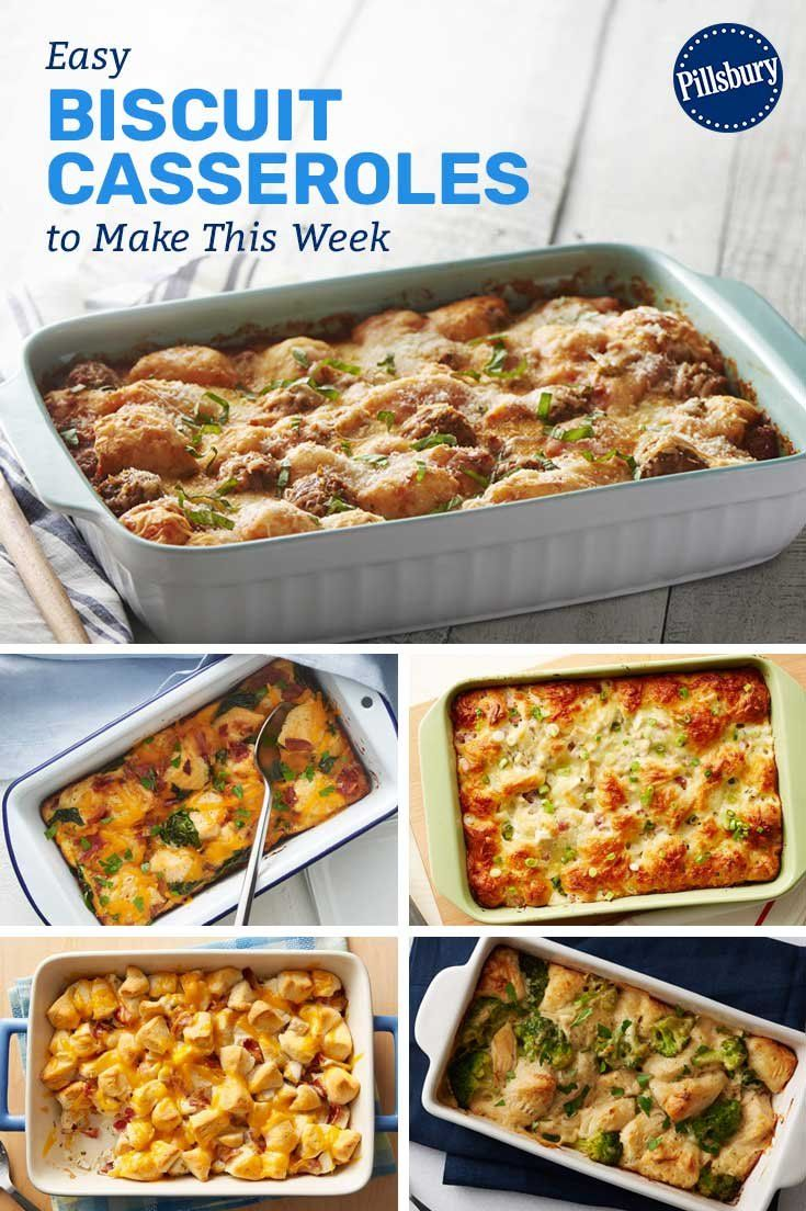 17 Easy Biscuit Casseroles To Make This Week Biscuit Recipes Dinner Dinner Casseroles Buscuit Recipe