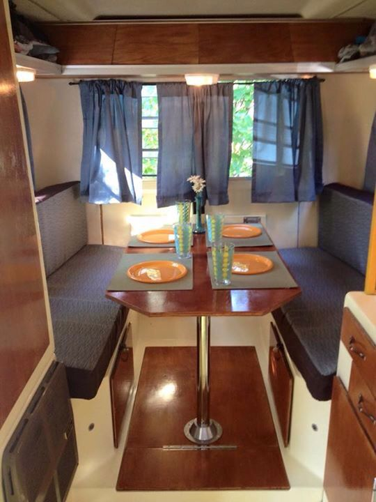 Trillium Trailer Interior Vintage Trailers Kitchen