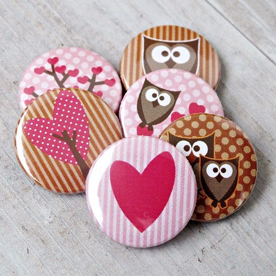 Owl badges