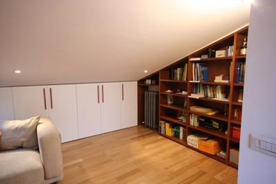 attic storage idea | Attic inspiration | Pinterest