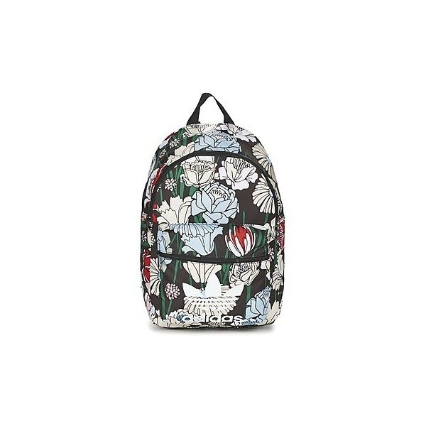 adidas BP FLORAL Backpack ($41) ❤ liked on Polyvore featuring bags, backpacks, backpack, multicolour, colorful backpacks, multi coloured bags, adidas bag, knapsack bag and floral bag