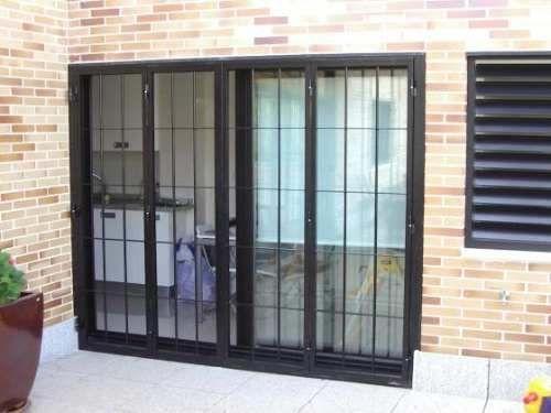 1000 ideas about ventanas con rejas on pinterest rejas de hierro rejas para ventana and - Rejas correderas para puertas ...