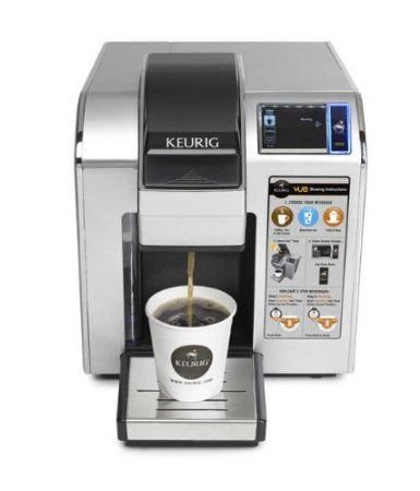 Review Of The Keurig Vue V1200 Single Cup Coffee Maker. If you need a coffee maker for the office then it looks like you might have found one...