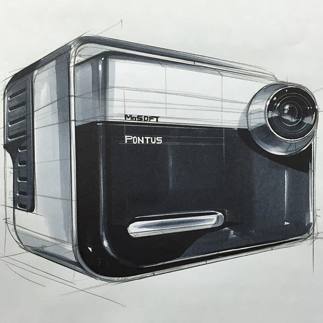 제품 스케치 & 마카테크닉 Product Sketch & Marker Technique