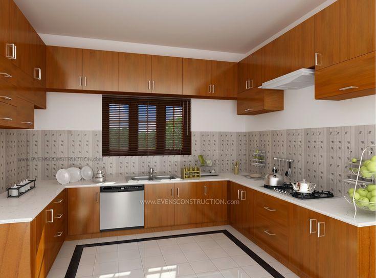 Design Interior Kitchen Home Kerala Modern House Kitchen Kitchen Dining  Kitchen Interior Designs Subin Surendran Architects   Wedding   Pinterest Part 64